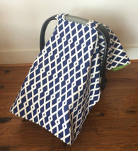 Navy Car Seat Cover