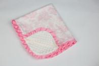 Pink Toile Blanket
