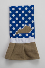 Blue KY Hand Towel
