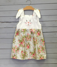 Bunny Face Dress with Floral