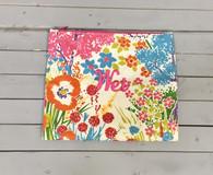 Wildflower Wet Bag