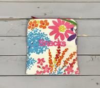 Wildflower Snack Bag