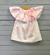 Pink Toile Priscilla Dress