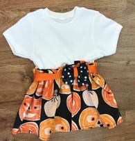 Jack-o-lantern Bow Dress