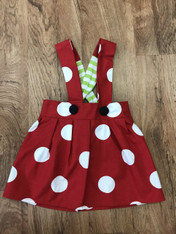 Red & White Polka Dot Charlotte