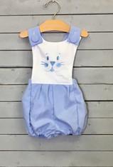 Blue Bunny Romper