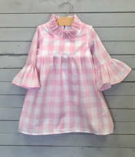 Pink Gingham Priscilla Dress