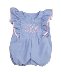 Initial Bubble Romper