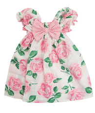 pink floral sweetie pie dress