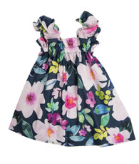 colorful floral sweetie pie dress