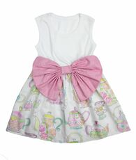 Tea Party Bow Dress