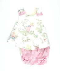 Nursery Rhyme Maggie Top and bloomers