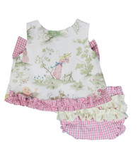 Nursery Rhyme Lexie Top and bloomers