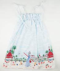 Beach Border Maxi Dress