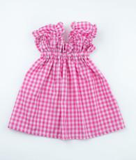 Hot Pink Gingham Sweetie Pie Dress