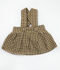 Brown and tan charlotte dress