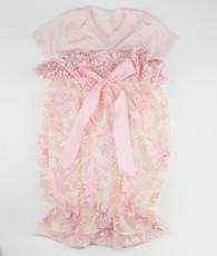 Pink lace bunt sack