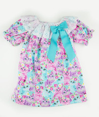 Aqua cat priscilla dress