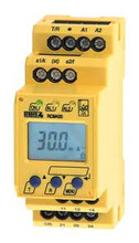 This industrial earth leakage detector is a better alternative to using more expensive breakers with ground fault protection capabilities.  Leakage level is fully programmable from 6ma+.  Requires one W1-S series current sensor to monitor one or more loads for ground fault leakage as required by the electical code.  Required 120VAC control voltage but can monitor any voltage or phase.