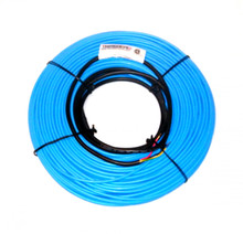 """These thick heating cables are C-CSA-U certified for general purpose and wet applications indoors.  Your investment is protected by our 10 year warranty which will cover repair costs or replacement up to the original cost of the cable.  CFH-T cables can be embedded in concrete slabs or over existing subfloors within as little as 3/8"""" of mortar or self-leveling cement.  Using 2.5 lb diamond lath metal mesh over cables is an ideal way of reinforcing a floor without raising the floor height.  See installation section for more details."""