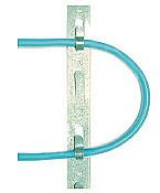 Galvanized metal clip strip