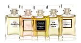 Chanel Frangrance Wardrobe Minature Parfum Gift Set