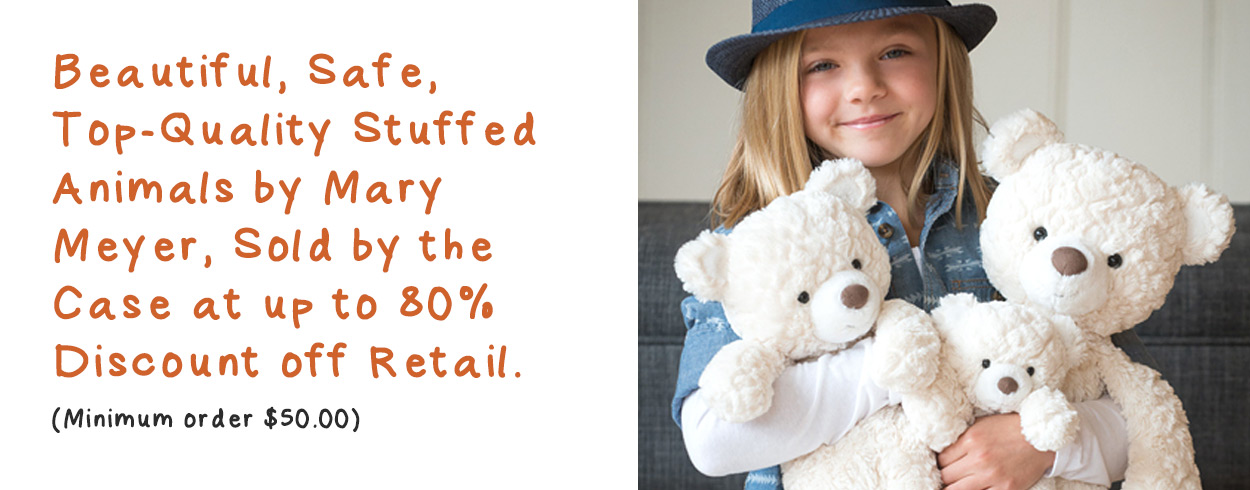 Beautiful, safe, top-quality stuffed animals by Mary Meyer