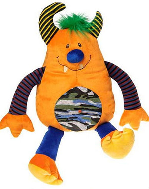 """Orange Thug Stuffed Toys in Bulk - 12"" high"""