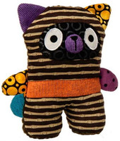 """Brown Stripe Stuffed Toy Raccoons - 6"" high"""
