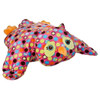 """Colorful Softly Stuffed Owl Pillows - 20"" long"""