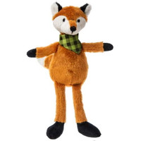 """Rusty Stuffed Toy Fox - 9"" high"""