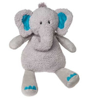 """Great Big Grey Stuffed Elephant - 24"" high"""