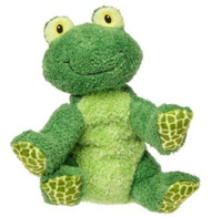 """Green Stuffed Toy Frog - 9"" high"""