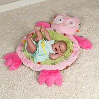 """31x23"""" Taggies Oodles Owl Baby Mat (2 pieces)"""