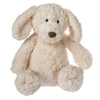 "17"" Cream Putty Pup (2 pieces)"