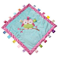"16x16"" Taggies Oodles Owl Cozy Blanket (2 pieces)"