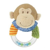Mary Meyer Mango Monkey Ring Rattle
