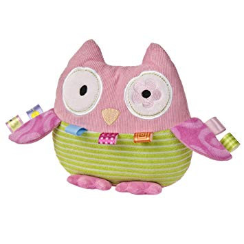 Mary Meyer Taggies Oodles Owl Rattle