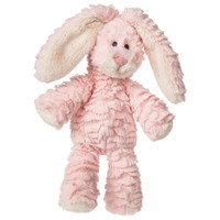 "9"" Marshmallow Junior Cotton Candy Bunny (4 pieces)"