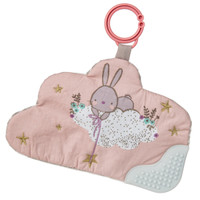 "9"" Putty Bunny Crinkle Teether (6 pieces)"