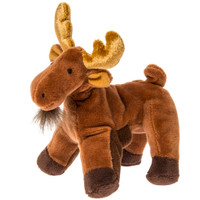 "6"" Munchin' Moose Finger Puppet (10 pieces)"