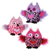 "4"" Whoo Hearts Owl Assortment (9 pieces)"