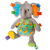 Taggies Little Leaf Elephant Soft Toy