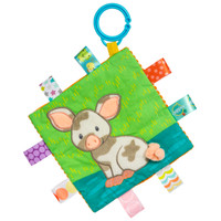 "6x6"" Taggies Crinkle Me Patches Pig (5 pieces)"