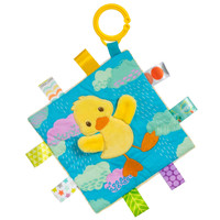 "6x6"" Taggies Crinkle Me Dipsy Duck (5 pieces)"