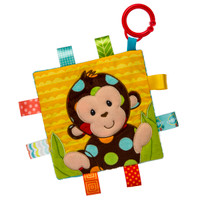 "6x6"" Taggies Crinkle Me Dazzle Dots Monkey (5 pieces)"