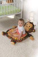 "31x23"" Taggies Dazzle Dots Monkey Baby Mat (2 pieces)"