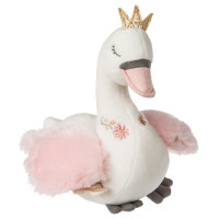 "9"" Itsy Glitzy Musical Swan (2 pieces)"