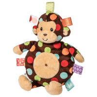 """11"""" Taggies Dazzle Dots Monkey Cookie Crinkle (4 pieces)"""