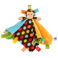 "13x13"" Taggies Dazzle Dots Monkey Character Blanket (3 pieces)"